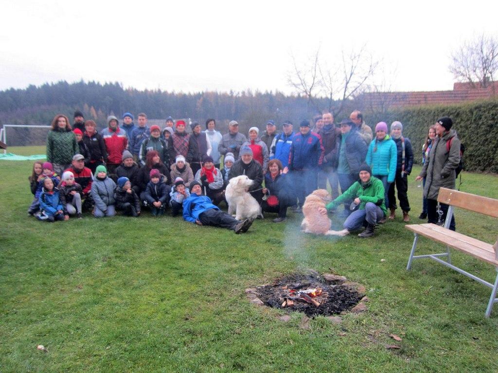 RUNOKR - Podzimní putování do Starého Telečkova a okolo nových rybníků 18.11.2017 16