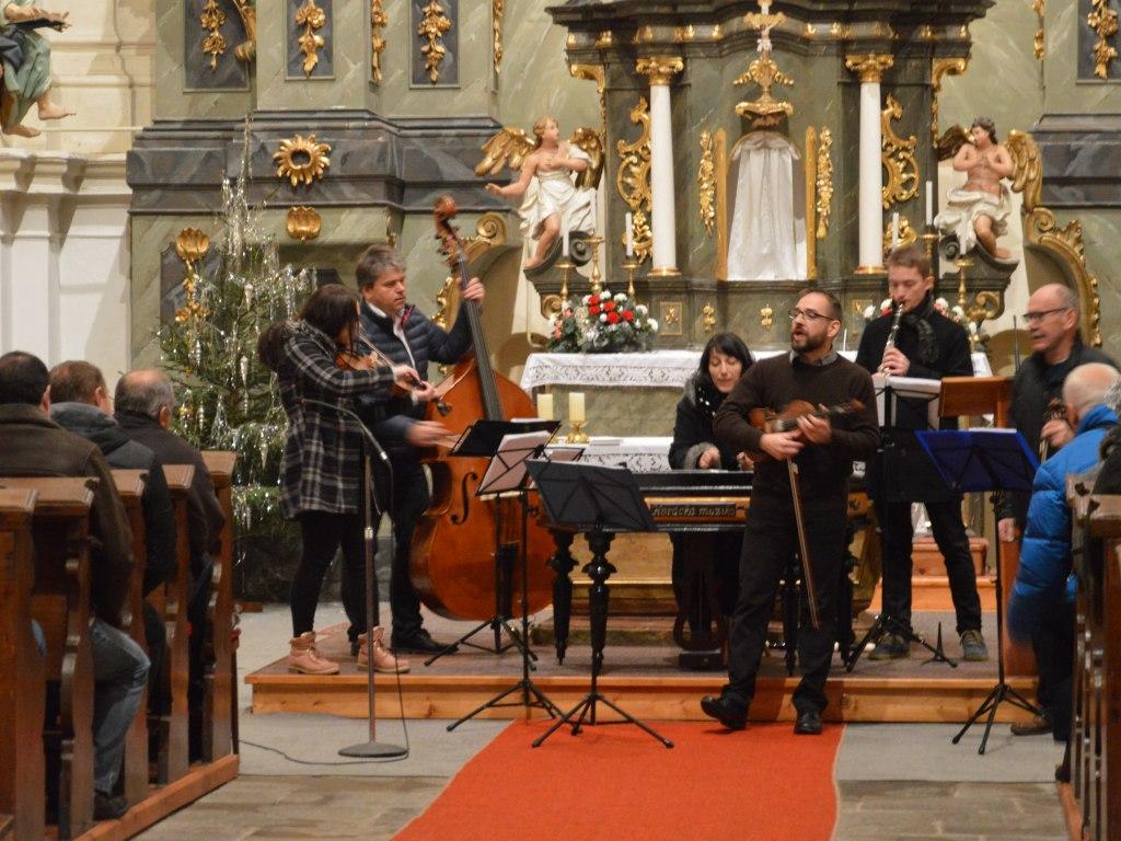 Horácká muzika v kostele Sv. Vavřince 27. prosince 2017 4