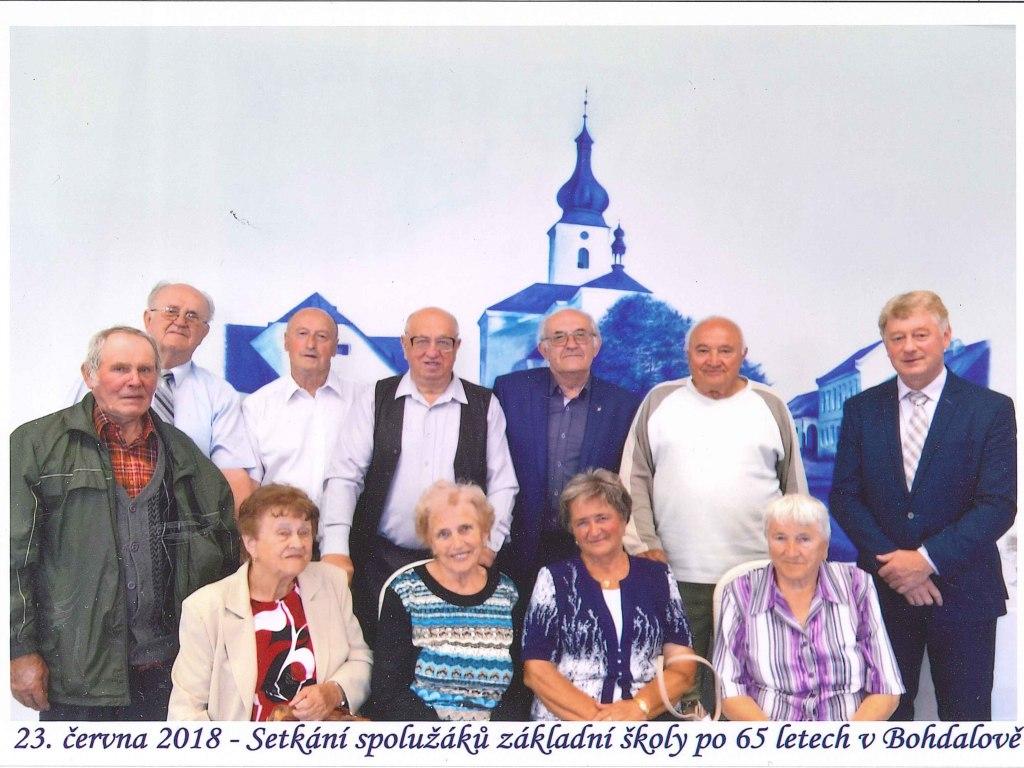 Setkání spolužáků 23. června 2018